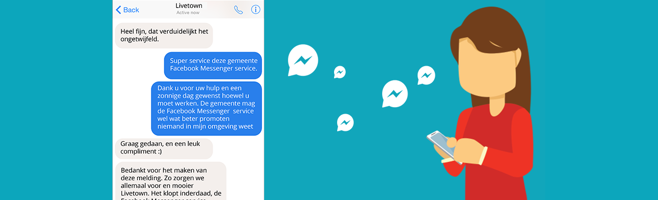 Municipalities, using Facebook messenger safely and