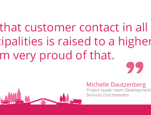 Customer contact at municipalities – a talk to Drechtsteden